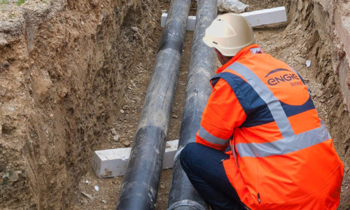 Démarrage des travaux de rénovation du réseau de chaleur de Chambéry